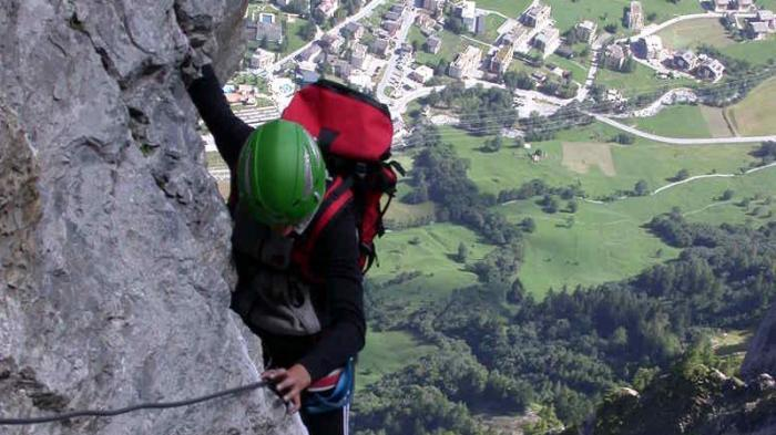Klettersteig Daubenhorn : Der klettersteig gemmi daubenhorn ist ab sofort wieder offen