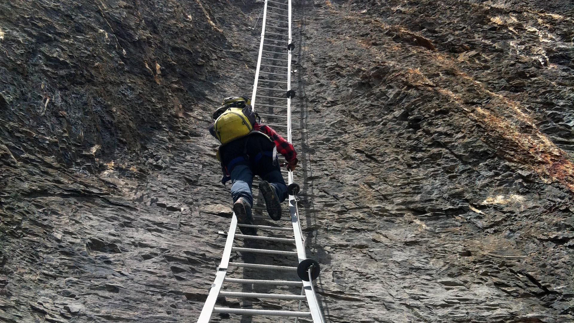 Klettersteig Wallis : Ab samstag oktober ist der klettersteig gemmi daubenhorn
