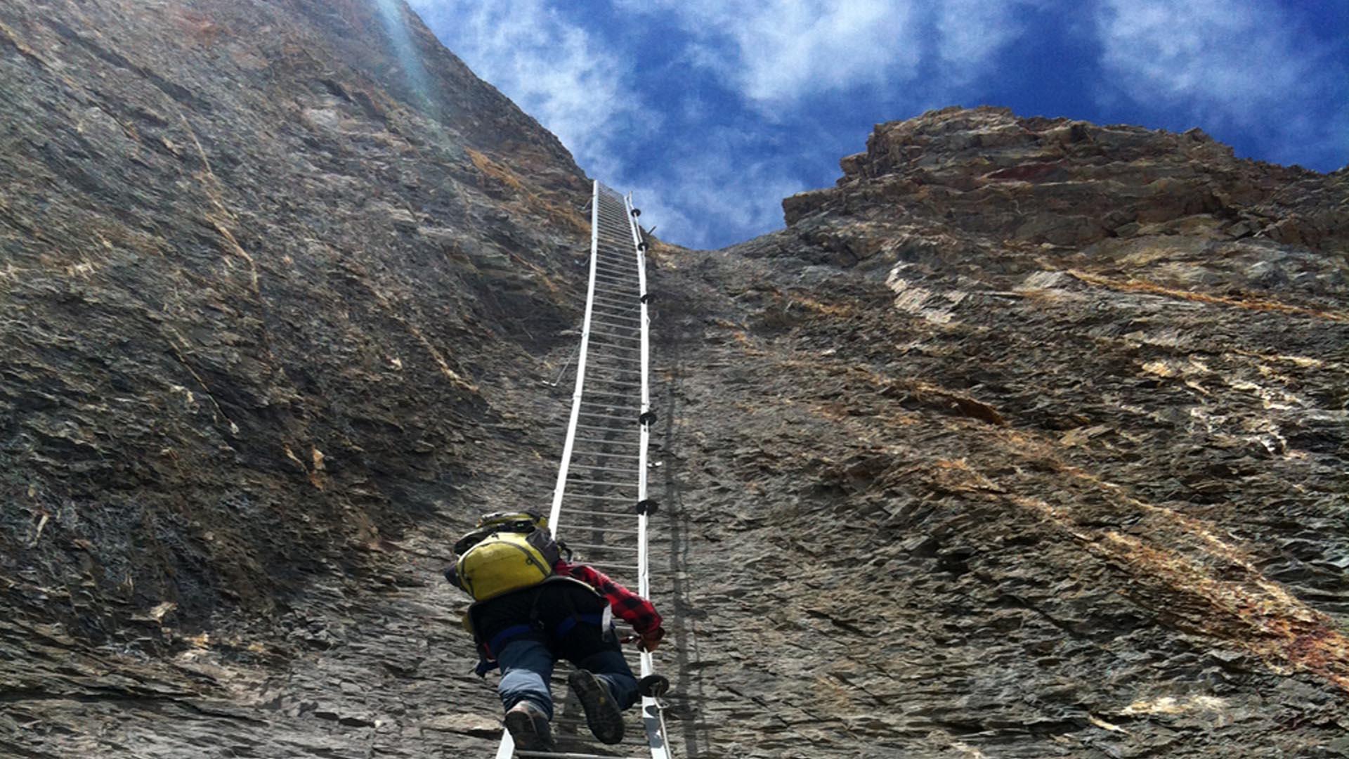 Klettersteig Daubenhorn : Leukerbad: klettersteig gemmi daubenhorn wieder offen