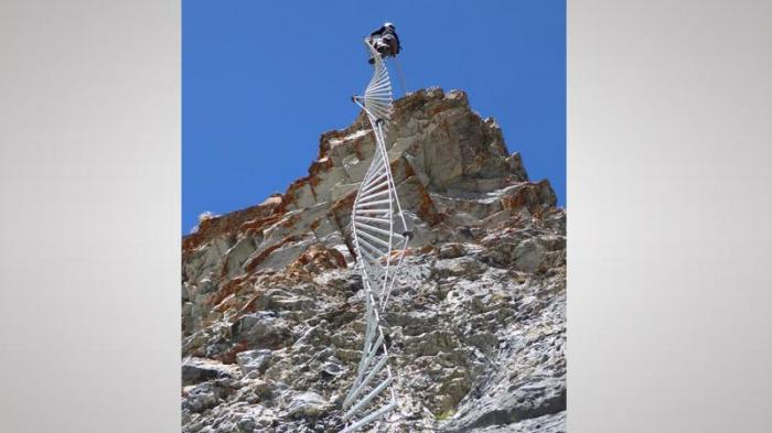 Klettersteig Daubenhorn : Der erlebnisklettersteig gemmi ist ab sofort offen. klettersteig