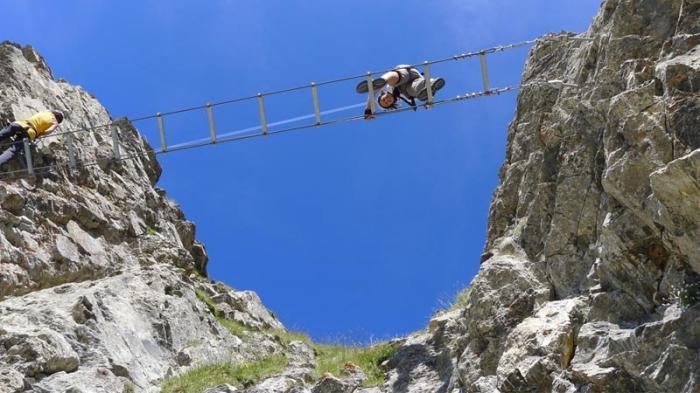 Klettersteig Daubenhorn : Der klettersteig daubenhorn in leukerbad kann zurzeit noch nicht