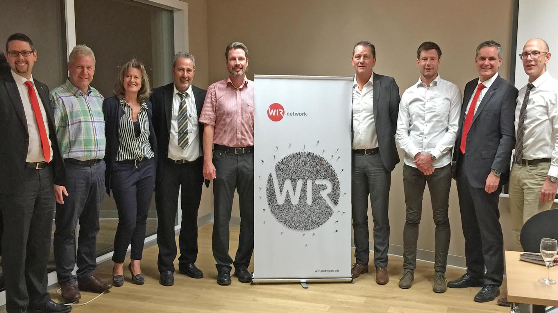 Nach acht Jahren gibt Meinrad Fussen das Präsidialamt des Wir-Networks ... - radio rottu oberwallis