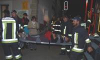 Am Dienstagabend fand im Furkatunnel eine Notfallübung mit rund 110 Einsatzkräften statt.