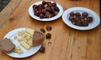 Die Chestenezunft von Mörel-Filet lud am Sonntag zum traditionellen Chestene-Fäscht mit Brisolée ein.