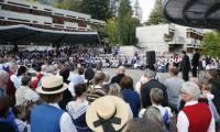In Fiesch nahmen bis am Sonntag über 500 Volkskulturbegeisterte an der 7. Brauchtumswoche teil.