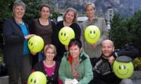 Die Initianten der Kinderkleiderbörse St. Niklaus arbeiten mit den Verantwortlichen des Vereins clownvisite zusammen.